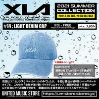 【XLA】LIGHT DENIM CAP