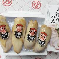 阿波尾鶏・すだち鶏スモークハム合計4本セット