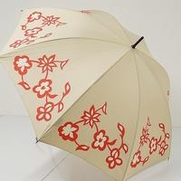 A9534 Sybilla シビラ 傘 USED美品 キッチュフラワー 人気 58cm 中古 ブランド