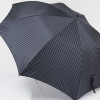 A0549 a.v.v アーヴェーヴェー 紳士傘 USED超美品 ストライプ 超大判 70cm 中古 ブランド