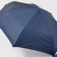 FA1677 Pierre Cardin ピエールカルダン 自動開閉式紳士折りたたみ傘 USED超美品 シェファードチェック 57cm 中古 ブランド
