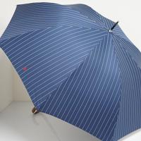 Polo Ralph Lauren ポロ ラルフローレン 紳士傘 USED超美品 ストライプ 細巻 ジャンプ 大判 65cm 中古 ブランド S3515