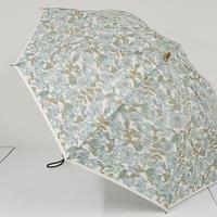eight ㈱エイト 高級折傘 USED超美品 ほぐし織 花柄 日本製 47cm 折りたたみ傘 中古ブランド FS2164