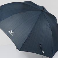 A0560 MIZUNO ミズノ 紳士傘 USED超美品 ストライプ 大判65cm スポーツ 中古 ブランド
