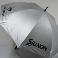DUNLOP SRIXON ゴルフ 傘 USED品 晴雨兼用 99%UVカットアンブレラ  ダンロップ スリクソン 特大 77cm  スポーツ プレー 中古 A0700