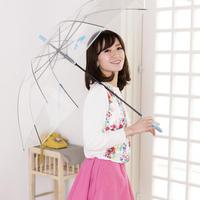大判ジャンプ式 渋谷まちけんビニール傘【LOVE&DREAM】 60cm/長傘 [NM60JB2]