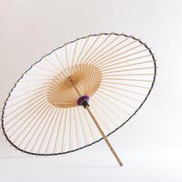 【日本製】高級番傘(白)【YBAN】※
