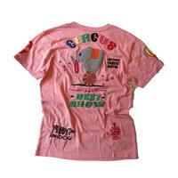 birdog 手刺繍Tシャツ サーカス