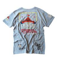birdog 手刺繍Tシャツ CARNIVAL