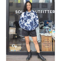 SOUYU OUTFITTERS. SOUYUMAN TIE DYE HOODED SWEAT   F20-so-21