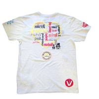 雑誌Safari掲載 birdog  手刺繍  ハート  Tシャツ WHT