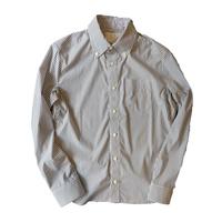 TSB ボタンダウンストレッチシャツ(ストライプブラック)