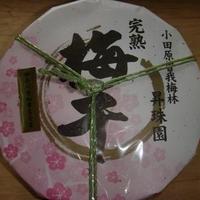 【完熟十郎】梅干し900g平樽(小田原曽我梅林産)