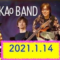 TAKAO BAND / 2021.1.14(木)19:00