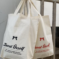 Treat ürself logo tote bag