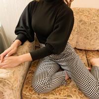 arm volume sweater(black)