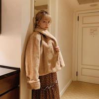 Treat  fur coat(rabbit)