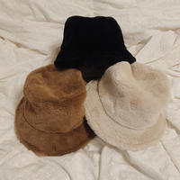 fur bucket hat