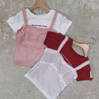 cotton lace  bustier