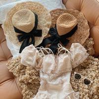 natural wire straw hat