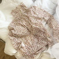 see-through flower lace tops