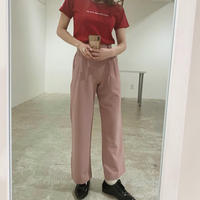 spring pink slacks pants