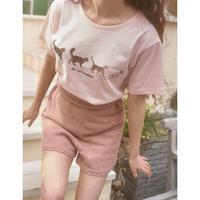 Treat cat walk T-shirts (pink)