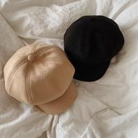 suede casquette hat
