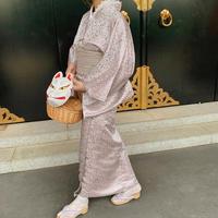 baby pink gloss Yukata