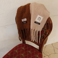 Treat fringe volume muffler(brown)