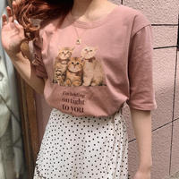 Treat cat T-shirts(strawberry)