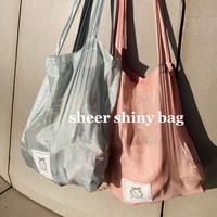Sheer Shiny bag