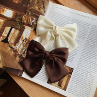 big ribbon barrette