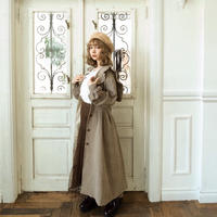 Treat sailor antique check coat