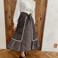 USA vintage retro flower skirt