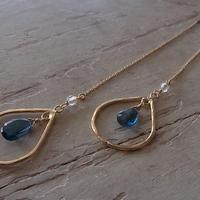 HammerWork pierced earrings