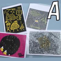 DOKIDOKIDOKKN POST CARD (HA-GA-KI!) - A