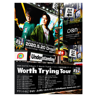 【PAM】Worth Trying Tour ポスター