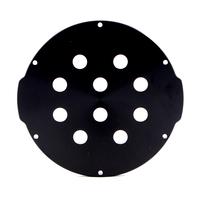 4インチアルミエンドキャップ(10穴) − Aluminum End Cap with 10 Holes (4″ Series)