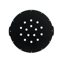 【廃盤】8インチアルミエンドキャップ(15穴) − Aluminum End Cap with 15 Holes (8″ Series)