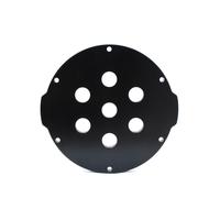 3インチアルミエンドキャップ(7穴) − Aluminum End Cap with 7 Holes (3″ Series)