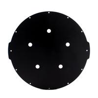 8インチアルミエンドキャップ(5穴) − Aluminum End Cap with 5 Holes (8″ Series)