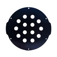4インチアルミエンドキャップ(14穴) − Aluminum End Cap with 14 Holes (4″ Series)
