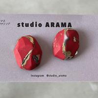 studio ARAMA  ishikoroイヤリング