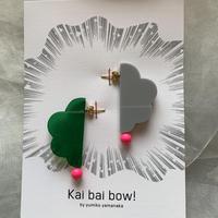 Kai bai bow 雲ピアス