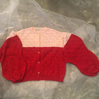 frankygrow  popcorn knit  cardigan