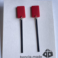 boncla.made 四角&stick ピアス