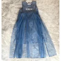 """UNIONINI""""WORD""""tulle long dressM(150㎝〜160㎝)size"""