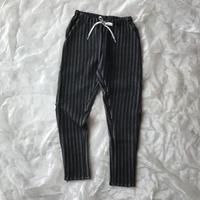 MOUN TEN. stripe quilt slim pants レディース 0size