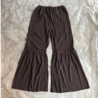 UNIONINI rib  knit frill long pants M(165㎝)size